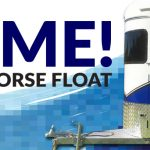 WIN! RIVIERA 2HAL HORSE FLOAT